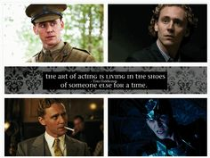 Tom Hiddleston. I love you....