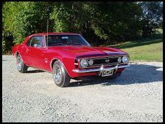 1967 Chevrolet Camaro  396/325 HP - Mecum Auction (sold, $37,000, December 2013)