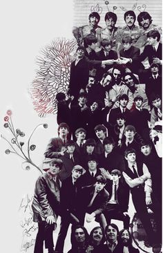 The Beatles - Art poster