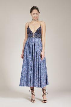 Elliette   Leni Dress   Blue – Elliette   Official Website