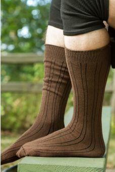 8c60ee3281688 B-Lines Dark Brown Thigh High Socks, Thigh Highs, Funky Socks, Warm