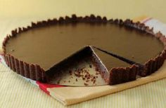 Decadent Chocolate Tart with Hazelnut Crust Recipe. This is a dessert to die for: Silky Chocolate tart with hazelnut crust and chocolate glaze on top. Chocolate Glaze, Decadent Chocolate, Chocolate Hazelnut, Love Chocolate, Chocolate Brownies, Chocolate Recipes, Chocolate Dreams, Dessert Chocolate, Chocolate Pictures
