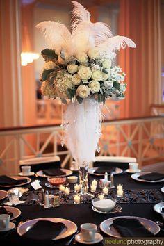 97 best ostrich feather decor images ideas centerpiece diner en rh pinterest com