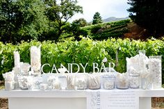 All White Candy Table--We could do ANY color!!!