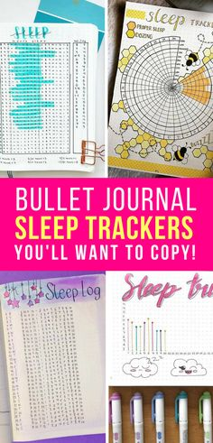 If you're always feeling tired then it's a good idea to make sure you're getting enough rest, by using one of these Bullet Journal sleep tracker spreads!
