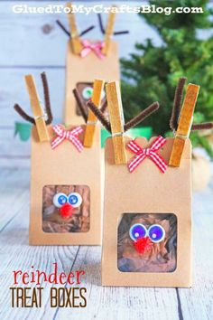 Reindeer Treat Boxes