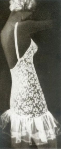 Lingerie fashion for Harper's Bazaar by Man Ray, 1935