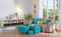 Tok&Stok Estar Opte por um sofá-cama reclinável se a ideia é otimizar espaço e garantir conforto na sala de estar.