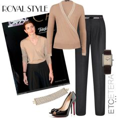 Royal Style - Etcetera Fall 2013 | www.etcetera.com