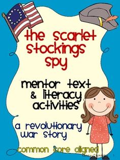 Awesome Mentor Text with resources- Scarlet Stockings Spy Mentor Text Literacy Activities