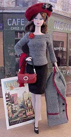 Parisian Barbie                                                        Want!