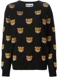 Compre Moschino Suéter Teddy bear em Stefania Mode from the world's best independent boutiques at farfetch.com. Over 1000 designers from 300 boutiques in one website.