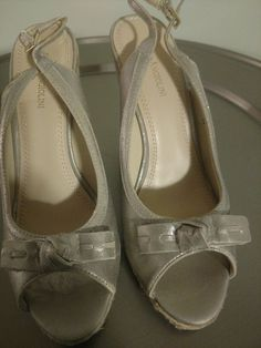 73216c67598c Light Gold Wedge by Enzo Angiolini  fashion  clothing  shoes  accessories   womensshoes