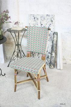chaise bistrot rotin - Le Blog déco de MLC -