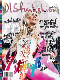 DISfunkshion Magazine is intended to touch the deepest fiber of EVERY young woman.