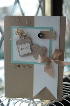 Stampin' Up! Card  by Kerry at Stampin'spiration: Valentine