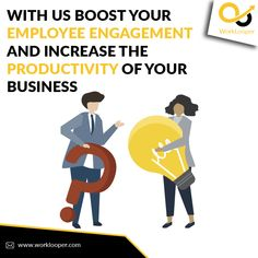With Us Boost Your Employee Engagement and Increase the Productivity of Your Business #InternalCommunication #AdvertisingCampaigns #ProductServices #BoostCampaigns #DirectServices