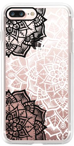 Casetify iPhone 7 Plus Case and other Lace iPhone Covers - Pretty Lace Mandala by Laurel Mae   Casetify