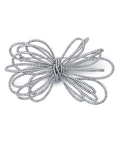 "Martin Katz designed delicate and whimsical diamond brooch pins. See the fine jewelry designs, including the Bow pin, ""M"" pin, and Sea Inspirations. Diamond Bows, Diamond Brooch, Diamond Gemstone, Diamond Jewelry, Anniversary Jewelry, 25th Anniversary, Jewelry Design Earrings, Jewellery, Titanic Jewelry"