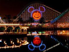 Go to Disneyland for Halloween!