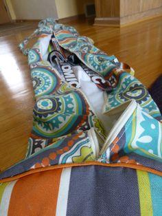Diy ski bag. #nordic #crosscountry #sewing