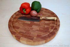 Cutting board by atelierunikart / Planche à découper Bloc de boucher Planche grain par atelierunikart