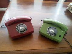 Vintage siemens telephones