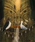 Home - Little River Gallery New Zealand Art, Little River, Maori Art, Robin, Design Inspiration, Culture, Gallery, Artwork, Painting