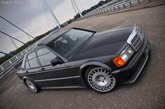 Mercedes 190 E Cosworth - With the popularity of rallying as a spectator sport increasing year on year, Mercedes wanted to take the rallying. Read more at somedayclassics. Mercedes Benz 190e, Mercedes Auto, Mercedes 190 Evo, M Benz, Bmw, Automobile, Mercedez Benz, Classic Mercedes, Top Cars