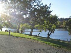 Bonelli park san dimas california sunset on the lake for Puddingstone lake fishing