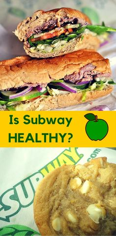 Subway is Not Healthy | www.carobcherub.com | Learn the nutrition facts for Subway's food. It isn't as healthy as you think it is. Tips for making a healthy meal, the best options for eating and the best choices when traveling. @carobcherub