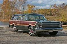 https://flic.kr/p/4aV2Lk | 1966 Ford Country Squire | 1966 Ford Country Squire - Maizie on the first excursion after restoration. better view