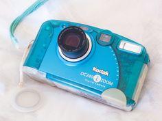 """ I just got the Kodak Zoom digicam Colored just like the Bondi Blue iMac 💙💙💙 Originally a Japan exclusive, it came in 5 colors: Blueberry, Strawberry, Lime,. Imac G3, Powershot, Aesthetics, Inspiration, Biblical Inspiration, Inhalation, Motivation"