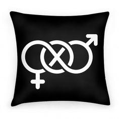 Bi Symbol #pillow #bi #bisexual #pride #lgbt #bisymbol #sexuality