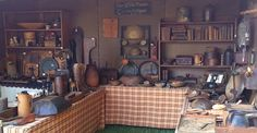 2013 Days of the Pioneer Antique show - booth of Carnine Antiques, Ankeny, Iowa. www.daysofthepioneer.com