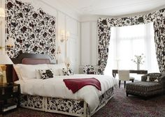 Fashion icon Diane Von Furstenberg debuted her interiors skills at The Claridge's Hotel, where she designed the Piano… Luxury Accommodation, Decor, Bedroom Inspirations, London Luxury Hotels, Interior Design Tips, Interior Design, Small Room Design, Interior, Home Decor