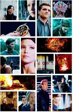 Catching Fire collage