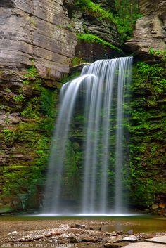 Eagle Creek Falls (The Finger Lakes) -- © 2008 Joe Braun Photography