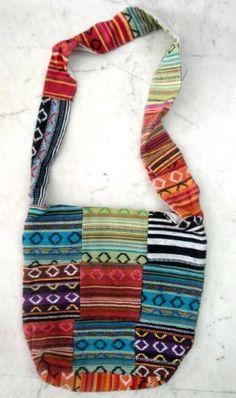 Cotton Canvas Boho Hobo Handcrafted Tote Hippie Indian Sling Cross Body Bag by Krishna Mart India, http://www.amazon.com/dp/B005GOL8JM/ref=cm_sw_r_pi_dp_tmIVpb11QB31D
