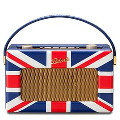 special edition union jack d60 dab radio by roberts' revival, offered by selfridges
