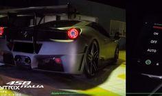 Ferrari 458 Italia med Armytrix udstødning er ekstrem!