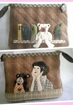 Cosmetic bag by Munkongshop