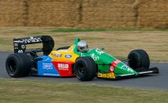 1988 Benetton B188 Ford F1 car at Goodwood FoS 2009