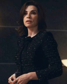 The Good Wife Season 5 Outfits, Explained by Costume Designer Daniel Lawson - Season 5, Episode 13: Nina Ricci Jacket from #InStyle