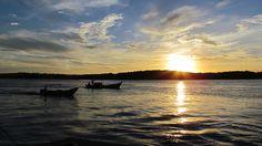 Travessia de Balsa de Porto Seguro para Arraial D'Ajuda, Bahia