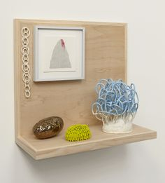 Linda Lopez drawing and ceramic installations