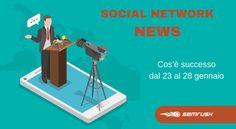 Le ultime notizie del mondo social per la settimana 23-28 gennaio 2016