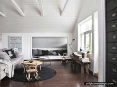 Pretty Loft In Norway - http://www.onlyhomedesign.com/apartments/pretty-loft-in-norway.html