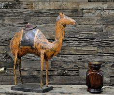 metal  Camel  by TREMENDOUS HOME DECOR & FURNITURE
