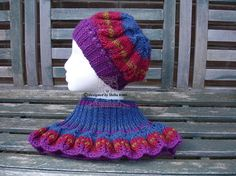 Knitted Hats, Crochet Hats, Hat And Scarf Sets, Neck Warmer, Trends, Trending Outfits, Craft, Unique Jewelry, Handmade Gifts